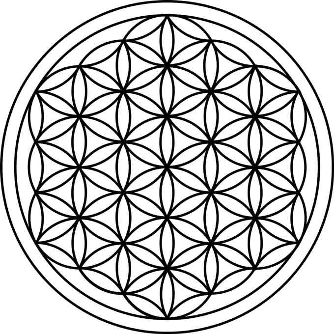 fleur de vie et géométrie sacrée